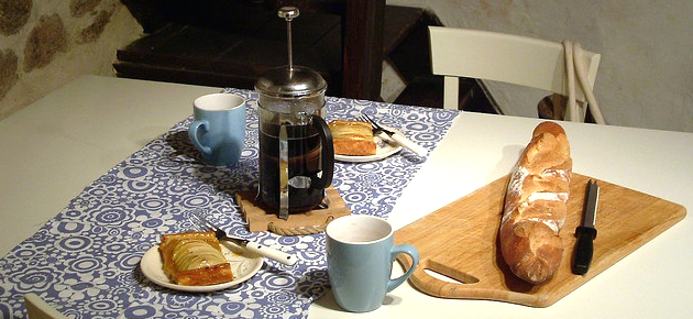 French Breakfast in the Cottage